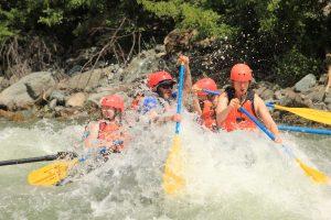 river adventure water activities near Fernie BC