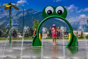 family-friendly water activities near Fernie BC