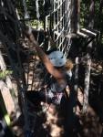 Ash loves climbing!