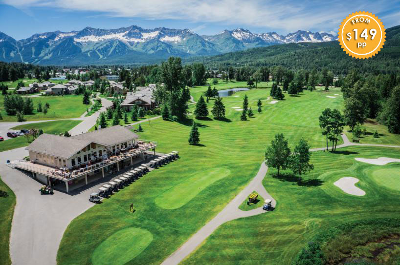 Fernie Golf Course hotel stay package
