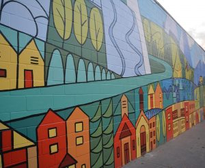 Arts of Fernie BC Mural
