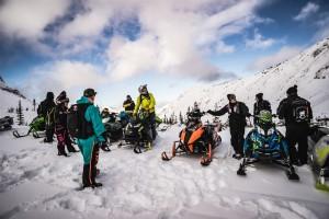 Snowmobile Fernie