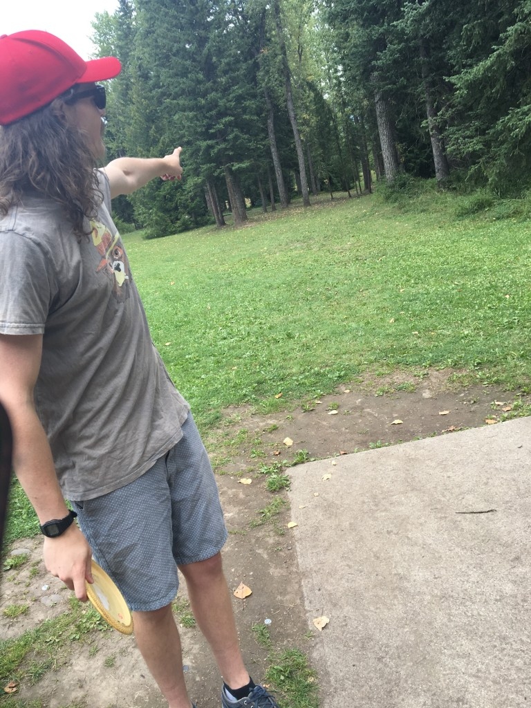 disc golf in James White Park