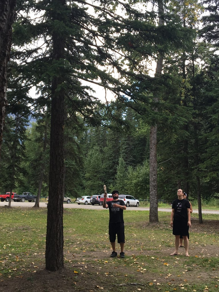 Frolf in Fernie