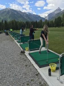 golfing this summer in fernie