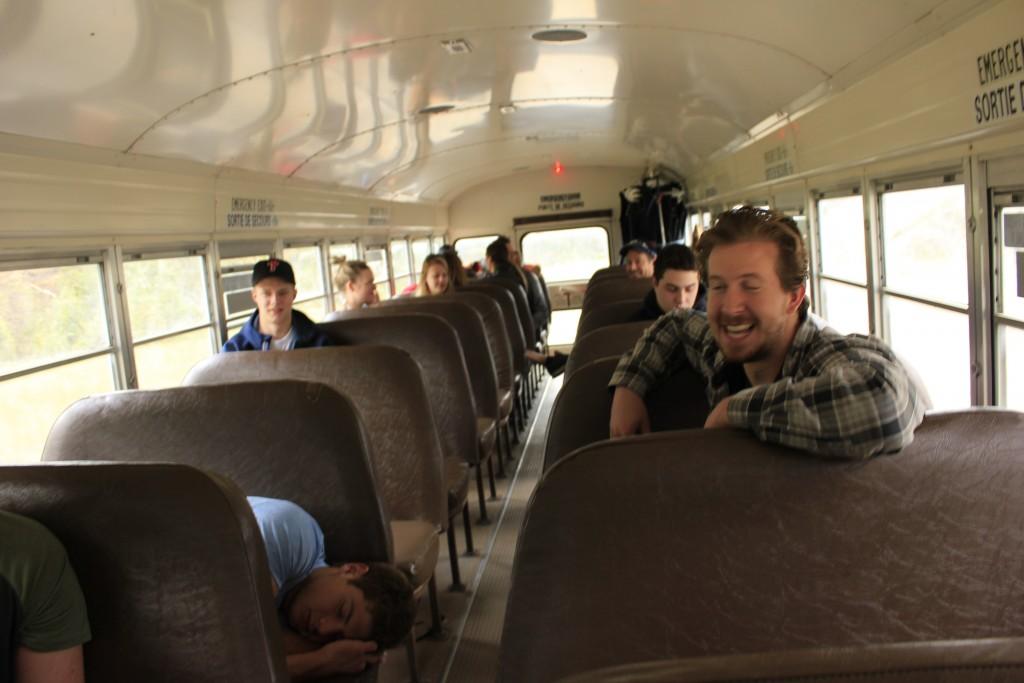 Mountain High bus to river transfer