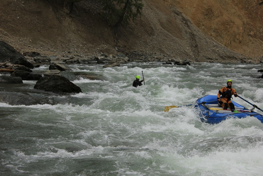 solo rafting