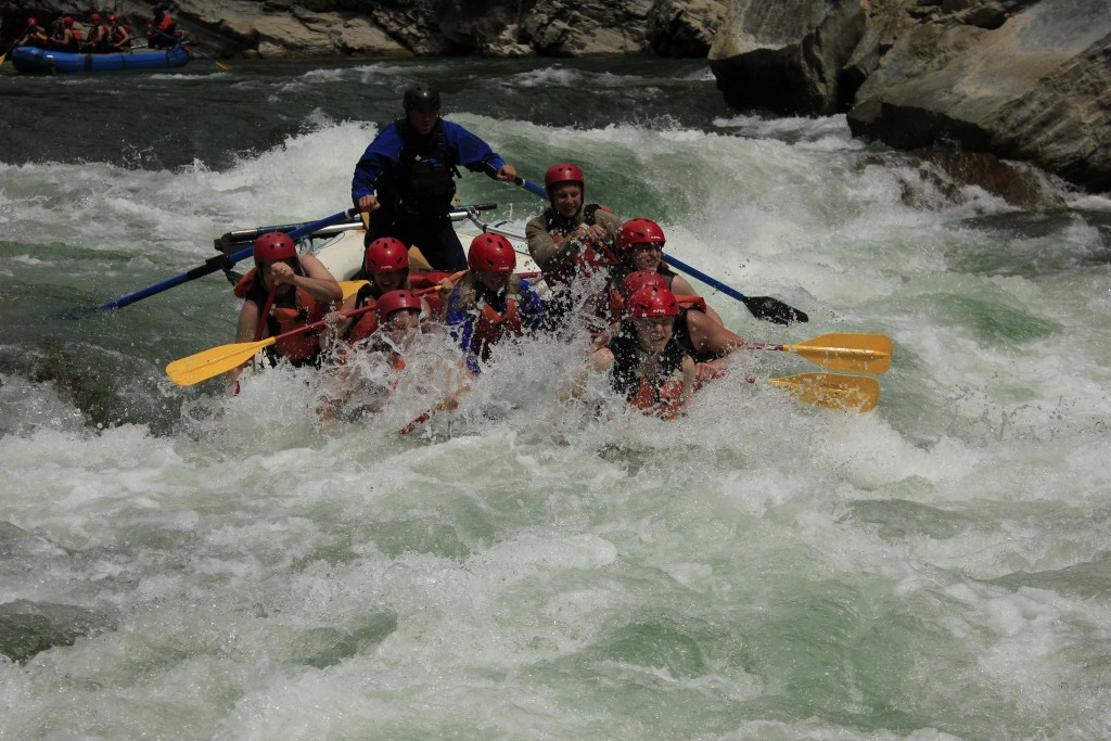 white water rafting in Fernie