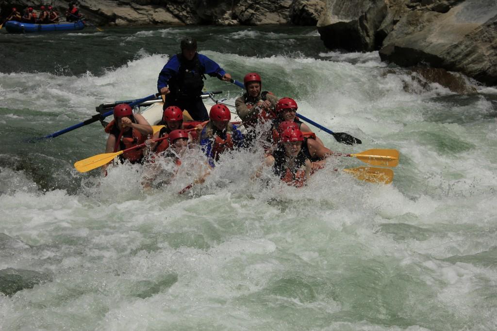 white water rafting in Fernie