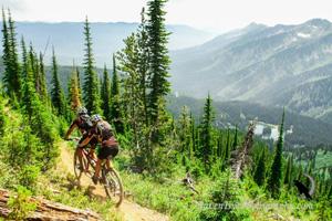 Adventure in Fernie Mountain Biking