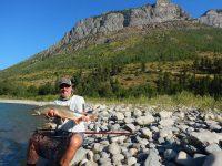 Fishing the Wigwam in Fernie