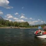 Fly fishing in Fernie