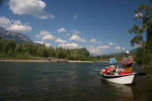 Fishing in Fernie