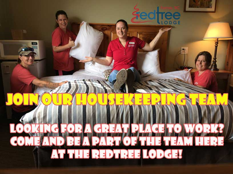 now hiring for housekeepers