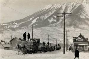 History of Fernie