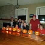 Pumpkins with Artists