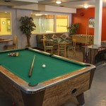 Games Room - Windows To Indoor Pool