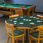 Games Room - Poker Table