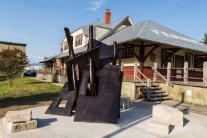 Fernie Arts Station sculpture