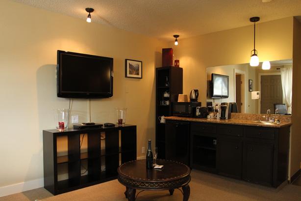 Luxury Fernie Hotel Room