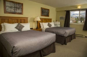 Fernie hotel photo gallery - superior hotel room picture