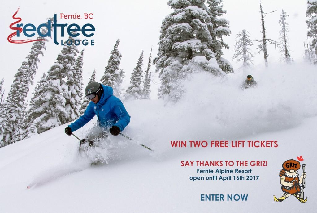 Win free fernie lift tickets